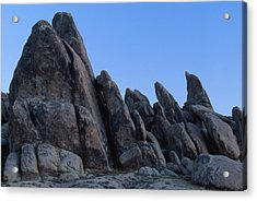 The Cool Of The Morning - Alabama Hills Acrylic Print