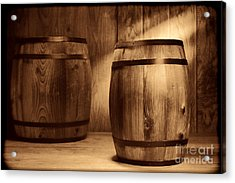 The Coopersmith Shop Acrylic Print by American West Legend By Olivier Le Queinec