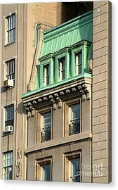 Acrylic Print featuring the photograph The Copper Attic by RC DeWinter