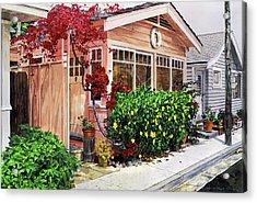 The Coral Hut - Catalina Island Acrylic Print