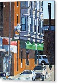 The Corner Acrylic Print by Deb Putnam
