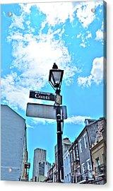 The Corner Of Conti Acrylic Print