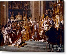 The Coronation Of Napoleon Acrylic Print