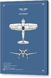 The Corsair Acrylic Print by Mark Rogan