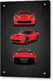 The Corvette Z06 Acrylic Print