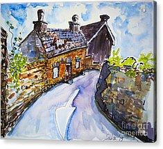 The Cottage Kinsale Acrylic Print by Lidija Ivanek - SiLa