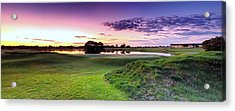 The Country Club Acrylic Print by Mark Lucey