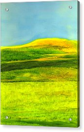 The County Maine Acrylic Print by FeatherStone Studio Julie A Miller