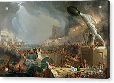 The Course Of Empire - Destruction Acrylic Print
