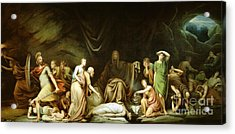 The Court Of Death Acrylic Print by Rembrandt Peale