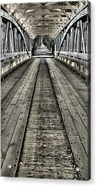 The Covered Bridge Acrylic Print by JC Findley