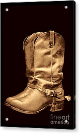 The Cowboy Boots Acrylic Print