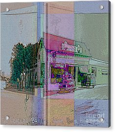 The Cracker Barrel Acrylic Print by Donald Maier