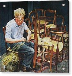 The Craftsman Acrylic Print by Marion  Hylton