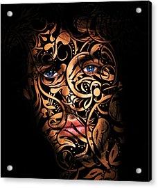 The Creation Of Man Acrylic Print