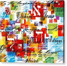 The Creator Acrylic Print