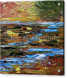 The Creek 3 Acrylic Print