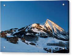 The Crested Butte Acrylic Print by Jerry McElroy