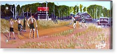 The Cricket Match Acrylic Print by Neil Trapp