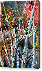 The Cries Of Autumn Acrylic Print by Mindy Newman