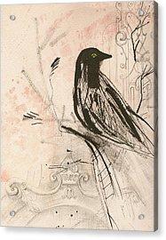 The Crow  Acrylic Print