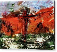 The Crucifixion #1 Acrylic Print