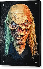 The Crypt Keeper Acrylic Print by Taylan Apukovska