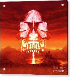 The Crystal Skull Acrylic Print