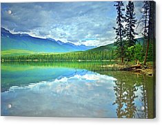 Acrylic Print featuring the photograph The Crystal Waters Of Lake Annette by Tara Turner