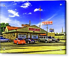 The Cub Acrylic Print by Scott Pellegrin