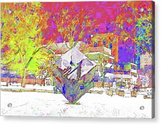 The Cube Acrylic Print