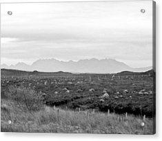 The Cuillin Acrylic Print by Dan Andersson