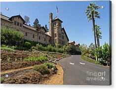 The Culinary Institute Of America Greystone St Helena Napa California Dsc1694 Acrylic Print by Wingsdomain Art and Photography