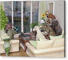 The Curious Room Acrylic Print