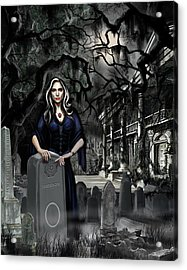 Acrylic Print featuring the painting The Curse Of Johnson Bayou by James Christopher Hill