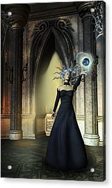 The Curse Of The Sorceress Acrylic Print by Emma Alvarez