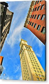 The Custom House Acrylic Print by Andrew Dinh