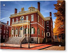 Acrylic Print featuring the photograph The Custom House Salem Massachusetts  by Carol Japp