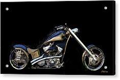 The Custom Rocker Acrylic Print by Wayne Bonney