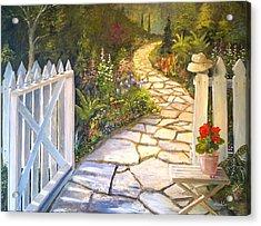 The Cutting Garden Acrylic Print