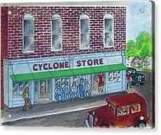 The Cyclone Store 1948 Acrylic Print