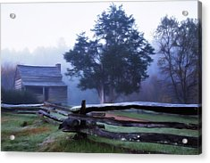 The Dan Lawson Place Acrylic Print by Lana Trussell