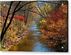 The Dan River Acrylic Print by Kathryn Meyer