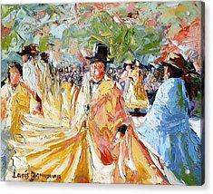 The Dance At La Paz Acrylic Print