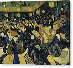 The Dance Hall In Arles  Acrylic Print by Vincent van Gogh