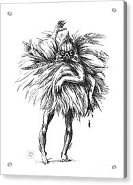 The Dance Macabre Acrylic Print