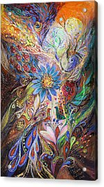 The Dance Of Light Acrylic Print by Elena Kotliarker