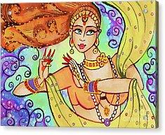 The Dance Of Maya Acrylic Print