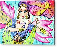 The Dance Of Pari Acrylic Print