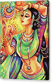 Acrylic Print featuring the painting The Dance Of Tara by Eva Campbell